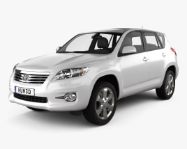 Toyota Rav4 European (Vanguard) 2012 3D model