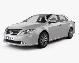 Toyota Camry EU (Aurion) 2012 3D model
