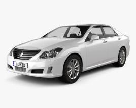 Toyota Crown Royal Saloon (S200) 2010 3D model