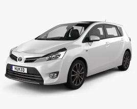 Toyota Vios 2013 3D model