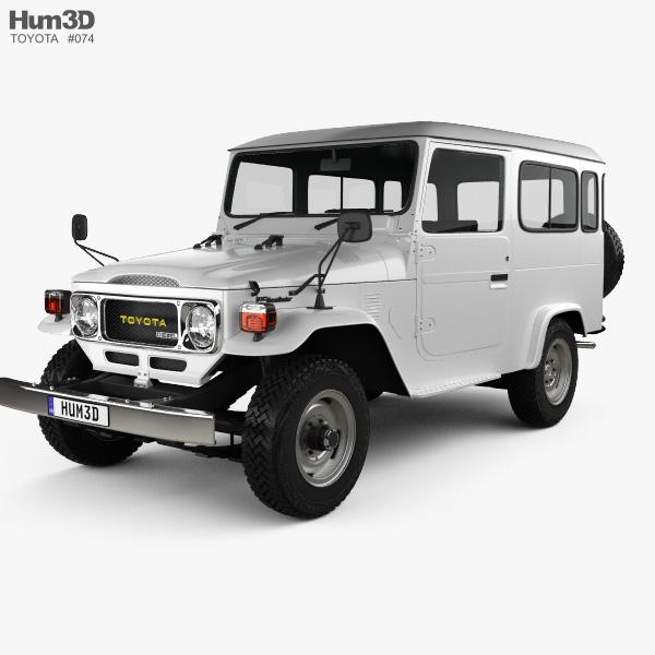 Toyota Land Cruiser J40 Hard Top 1979 Model