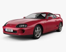Toyota Supra 1993 3D model