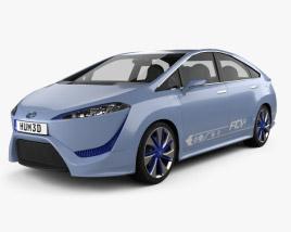 Toyota FCV-R 2012 3D model
