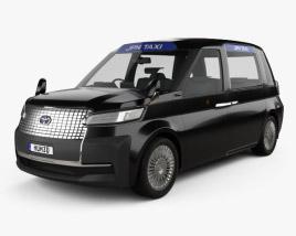 Toyota JPN Taxi 2013 3D model
