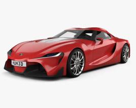 Toyota FT-1 2014 3D model