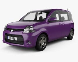 Toyota Sienta Dice 2011 3D model