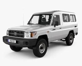 Toyota Land Cruiser (J78) 2010 3D model