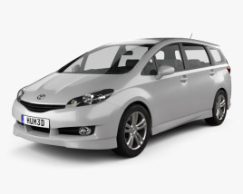 Toyota Wish 2009 3D model