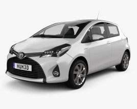 Toyota Yaris 5-door 2015 3D model
