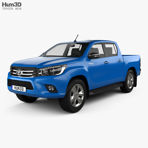 Toyota Suvs 2015: Toyota Hilux Double Cab Revo 2015 3D Model