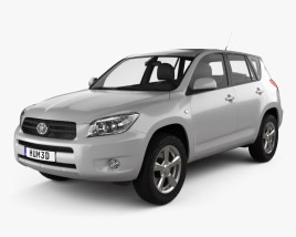 Toyota RAV4 2006 3D model