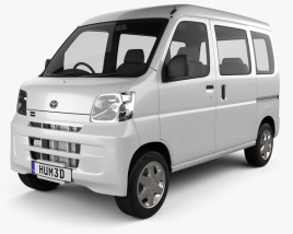 Toyota Pixis Van 2011 3D model