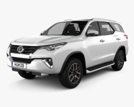 Toyota Fortuner 2016 3D model