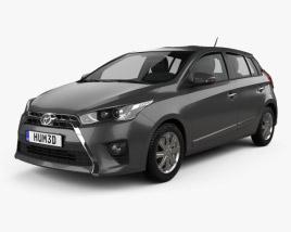 Toyota Yaris SE plus 2016 3D model