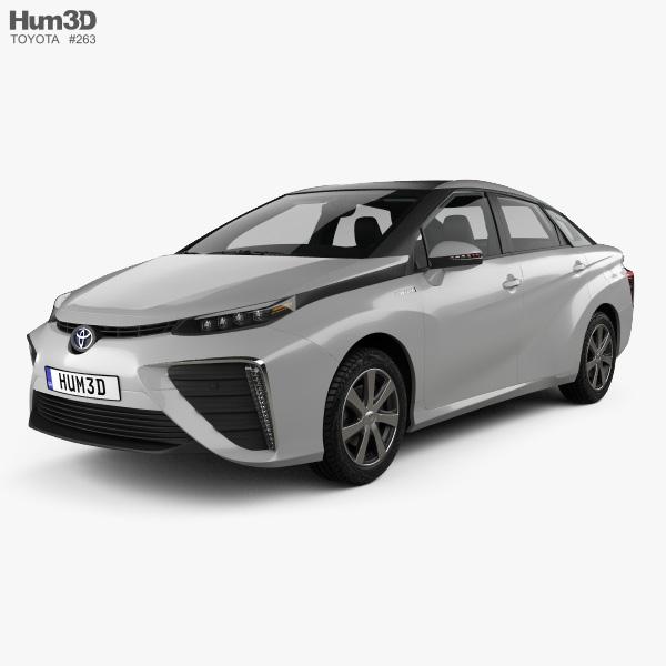 Toyota Mirai With Hq Interior 2017 Model
