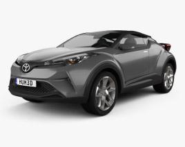 Toyota C-HR Concept 2016 3D model