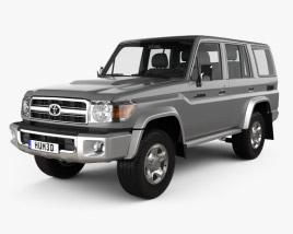 Toyota Land Cruiser 2007 3D model