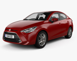 Toyota Yaris (CA) sedan 2015 3D model