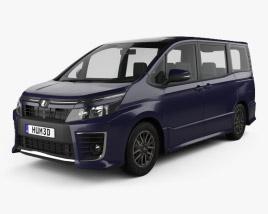 Toyota Voxy ZS 2014 3D model