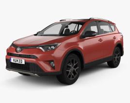 Toyota RAV4 SE 2016 3D model
