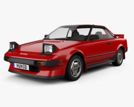 Toyota MR2 1984 3D model