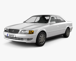Toyota Chaser 1998 3D model