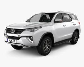 Toyota Fortuner VXR 2016 3D model