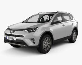 Toyota RAV4 VXR 2016 3D model