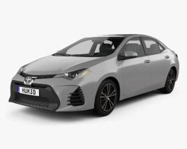 Toyota Corolla SE (US) 2013 3D model