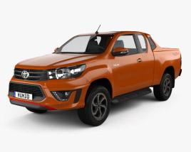 Toyota Hilux Double Cab Revo TRD Sportivo 2016 3D model
