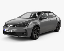 Toyota Corolla 2016 3D model