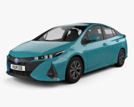 Toyota Prius Prime 2016 3D model