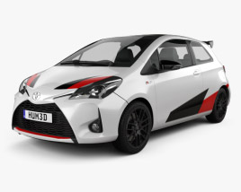 Toyota Yaris GRMN 2017 3D model