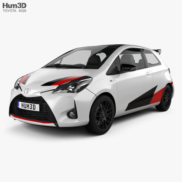 2020 Toyota Yaris Hatchback: Toyota Yaris GRMN 2017 3D Model