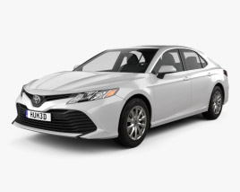 Toyota Camry LE 2017 3D model
