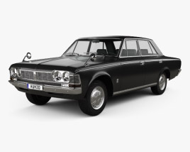 Toyota Crown 1967 3D model