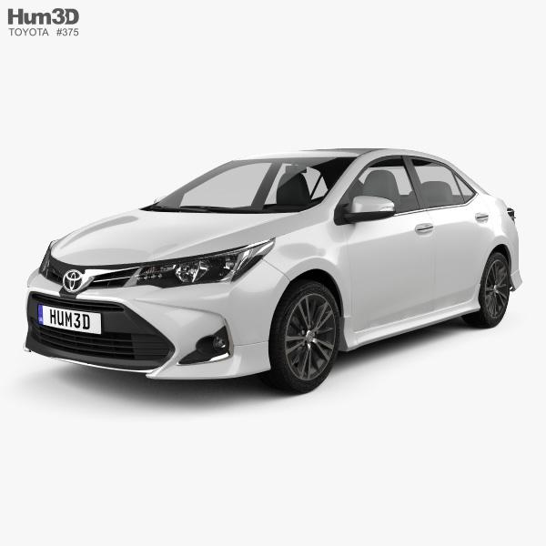 Toyota Sports Car: Toyota Corolla Sport 2018 3D Model