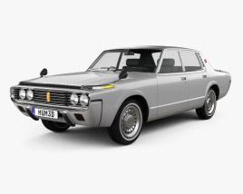 Toyota Crown sedan 1971 3D model