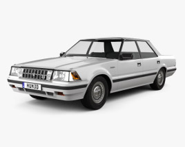 Toyota Crown Royal Saloon 1983 3D model
