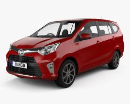 Toyota Astra Calya 2016 3D model