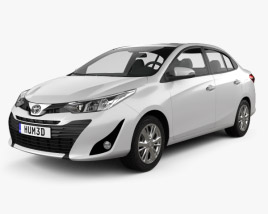 Toyota Vios 2018 3D model