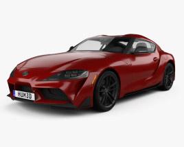 Toyota Supra US-spec 2019 3D model