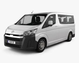 Toyota Hiace Passenger Van L1H1 Deluxe 2019 3D model
