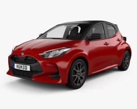 Toyota Yaris hybrid 2020 3D model