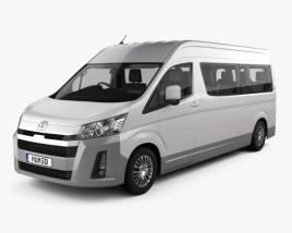 Toyota Hiace Passenger Van L2H2 GL with HQ interior RHD 2019 3D model