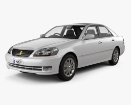 Toyota Mark II 2002 3D model