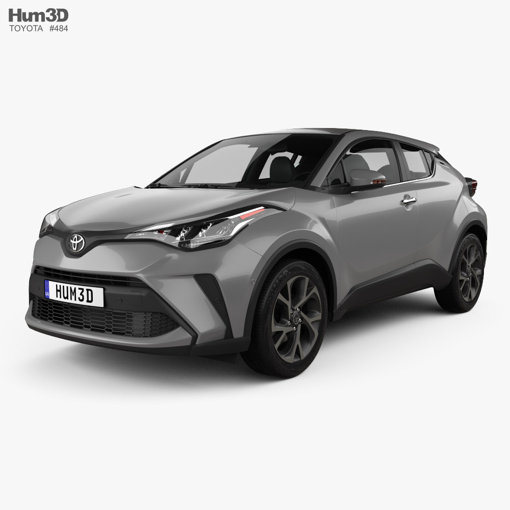 Toyota C-HR 2019 3d model