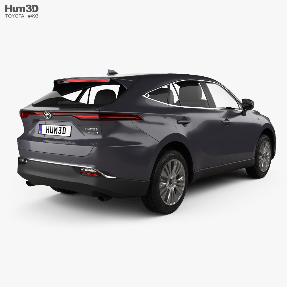 Toyota Venza Limited 2021 3d model