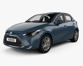Toyota Yaris CA-spec XLE hatchback 2019 3D model