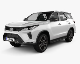 Toyota Fortuner Legender 2020 3D model